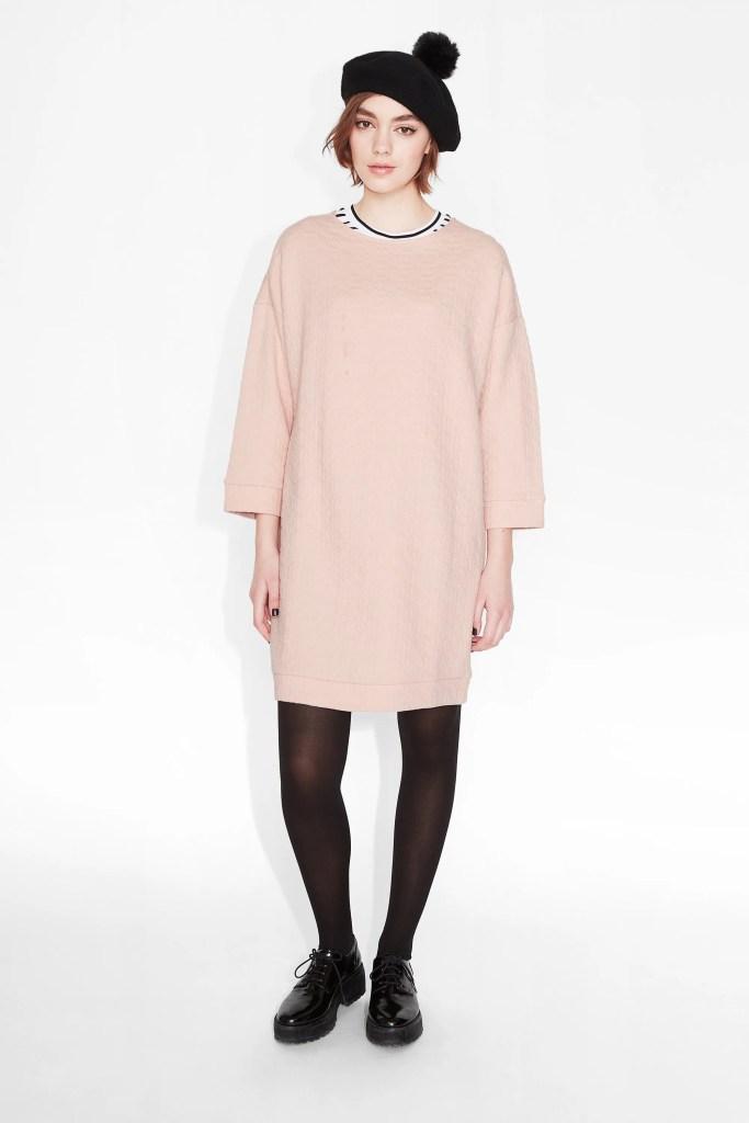 Stina pink dress Monki