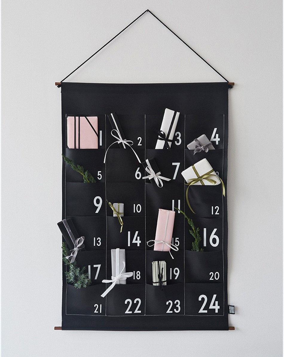Typography Advent Calendar : Scandinavian advent calendars to start the christmas