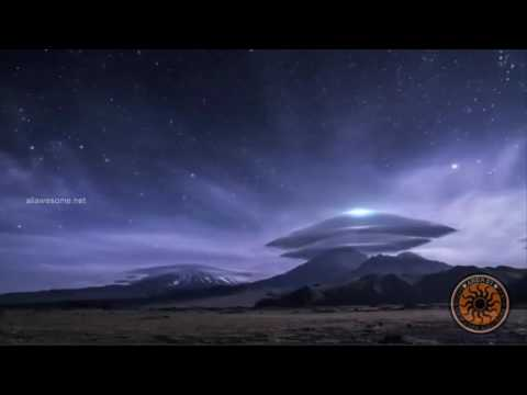 UFO Sightings 2017 | UFOs Caught On Tape | Mysterious Cloud over Mountain