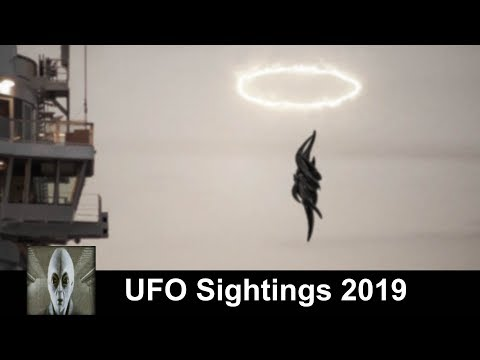 UFO Sightings 2019 Black Mass Goes Thru Portal