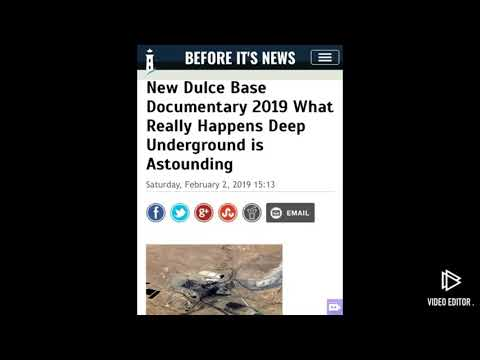 New dulce base documentary 2019! What really happens underground!!