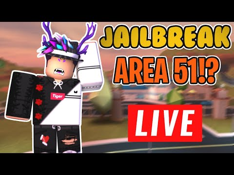 🔴 JAILBREAK UPDATE! | I'M BACK! | NEW BANK ROBBERY 💰 + AREA 51?! | ROBLOX