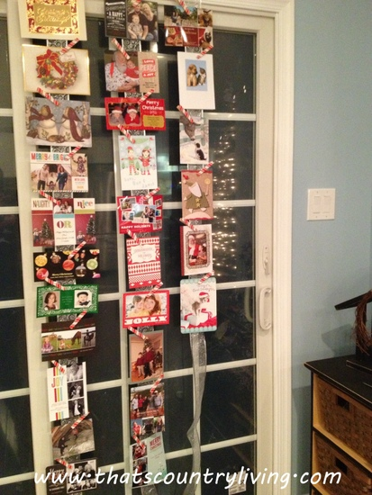 44 Best Christmas Card Display Ideas DigsDigs