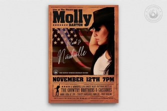 Country Live Flyer Template V.2