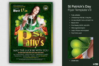 Saint Patrick Flyer Template V3