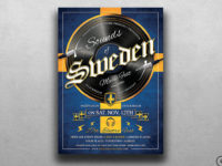 Sounds of Sweden Flyer Template