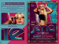 Dj Session Flyer Template Psd V3