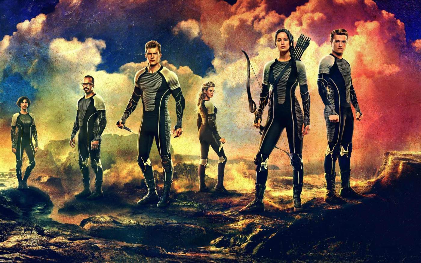 The Hunger Games Movie Review - That Shelf