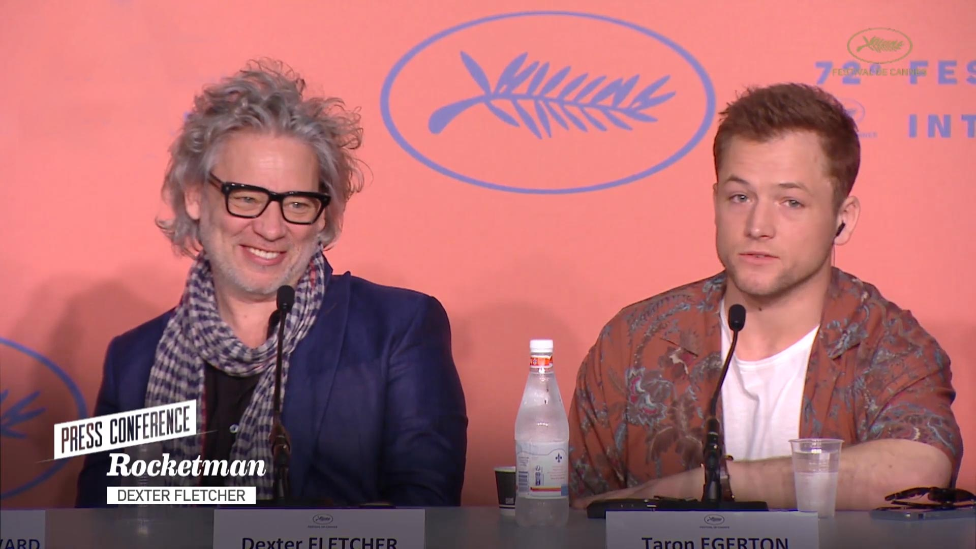 Cannes 2019: Rocketman's Taron Egerton and Dexter Fletcher on Elton John and Trying to Make His Iconic Music Their Own