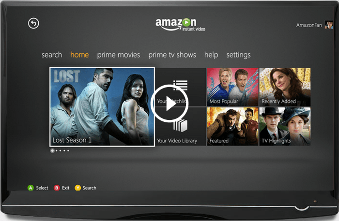 That's It Guys | Amazon Instant Video App Now Available for the Xbox 360