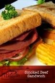 Smoked Beef Sandwich