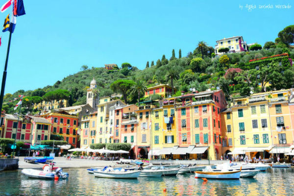 portofino liguria holiday