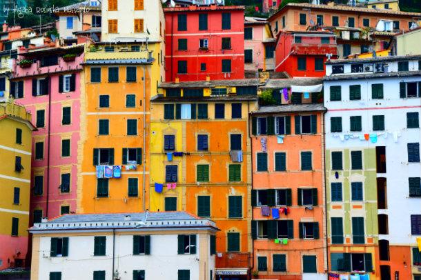 Camogli, romantyczne domy żon