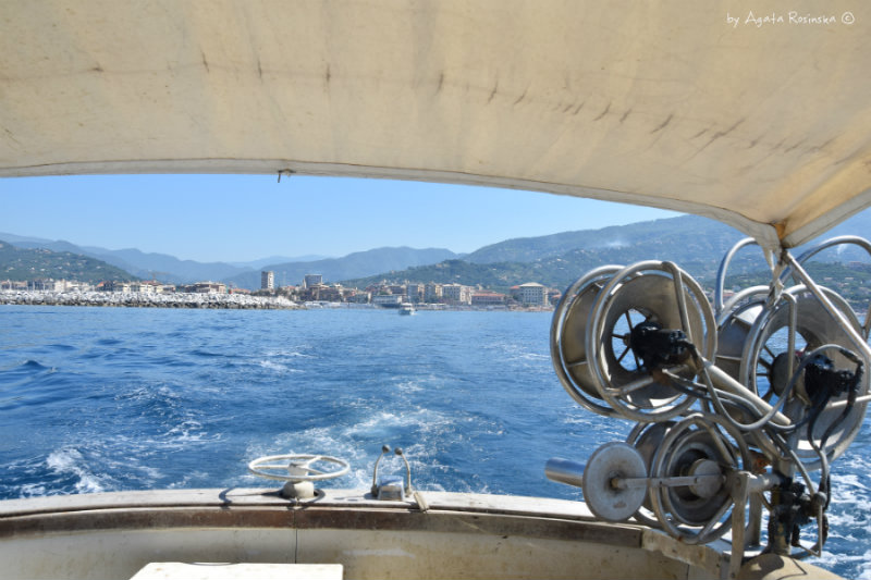 view from a fishing boat