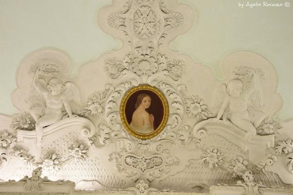 dekoracje sufitu