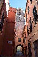 church tower Varese Ligure