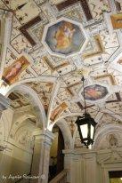frescos of atrio