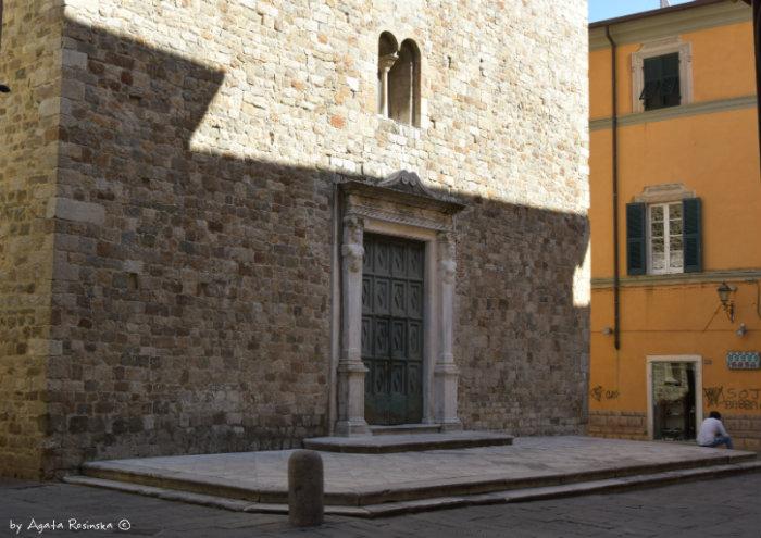 the oldest church of Sarzana