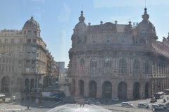 view on Piazza de Ferrari