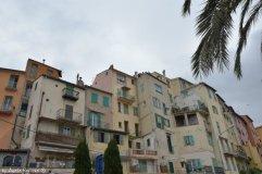 Ligurian houses style Menton