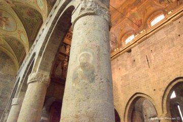Interiors cathedral Albenga