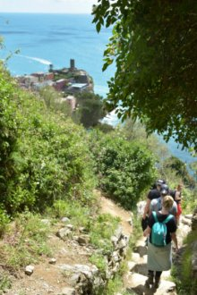 arriving to Vernazza