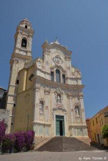 John the Baptist church Cervo in Liguria