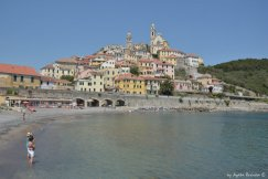 beach and Cervo