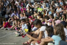 children during the festival