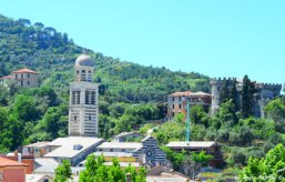 panorama of Levanto