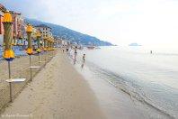 private beach Alassio