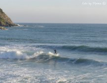 surfers in Levanto