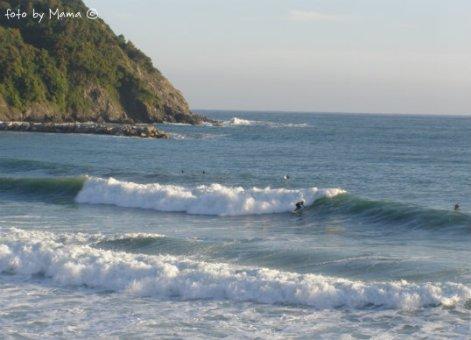 surfing in Levanto