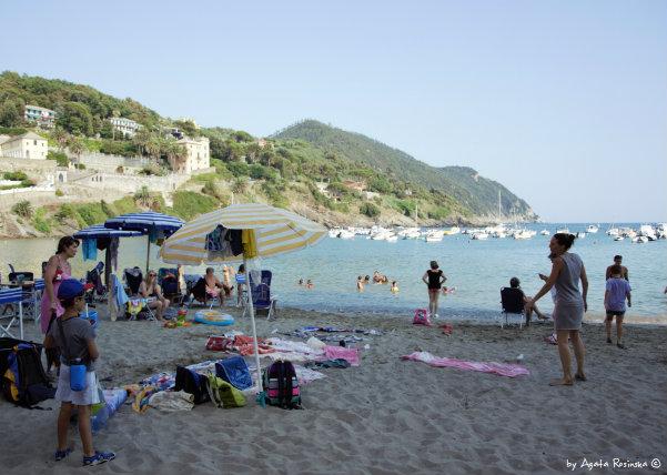 tourist in Baia del Silenzio