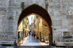 town gate in Noli