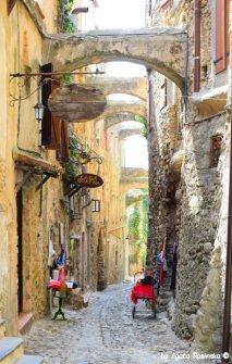 Bussana Vecchia old town
