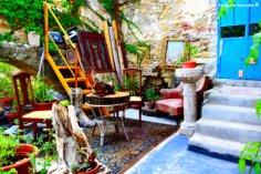 interiors of Bussana house