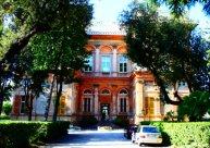 entrance Villa Pallavicini