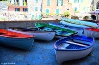fisherem boats Tellaro