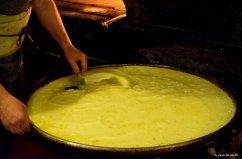 mixing farinata