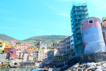 view from the sea Tellaro
