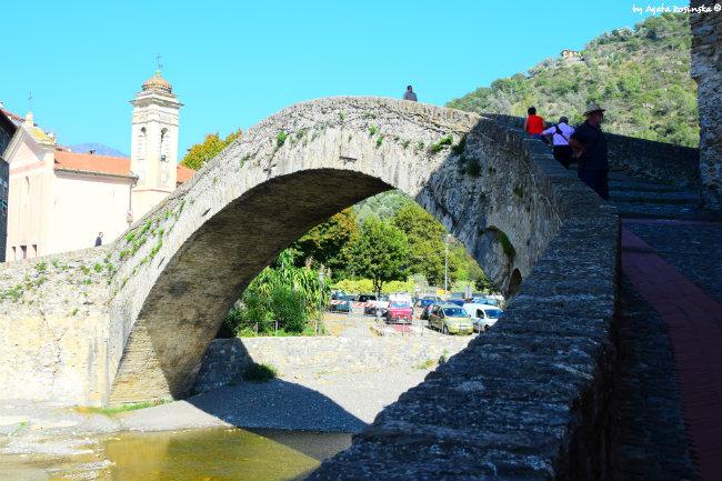 medieval bridge of Dolceacqua