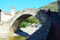 medieval bridge of Dolceacqua