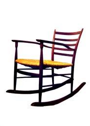 chiavarina rocking chair by Casoni book