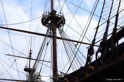 mast of galleon