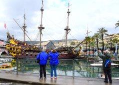 tourists Genova