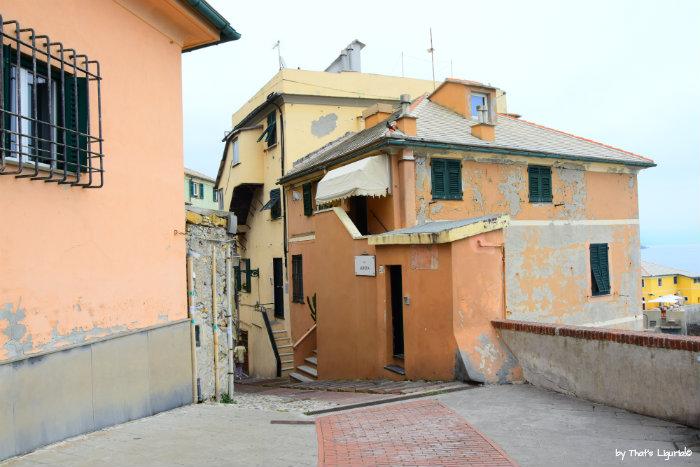 Boccadasse entrance