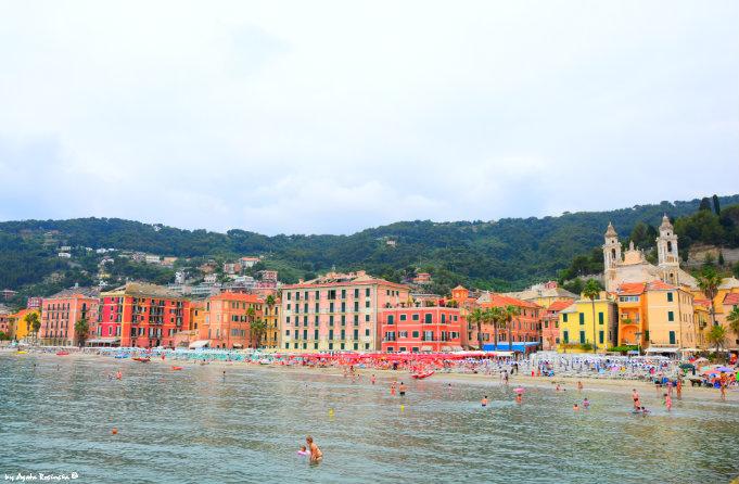 Laigueglia, urocze miejsce w Ligurii...ale jak się wymawia jego nazwę???