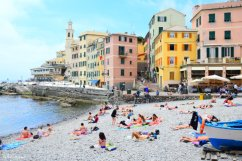 beach Boccadasse Genova