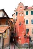 details of Laigueglia old town